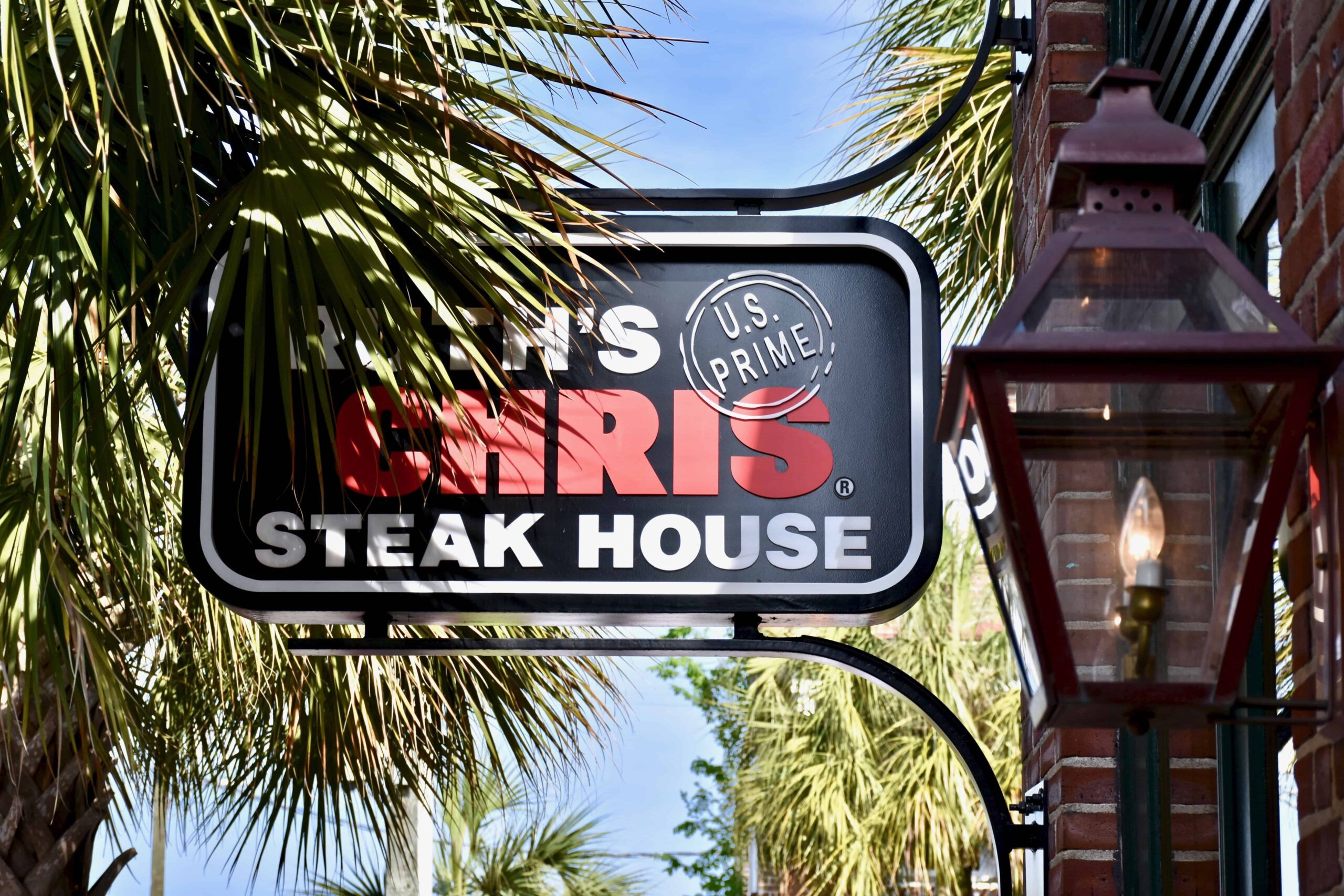 Ruth Chris steak house in Charleston South Carolina