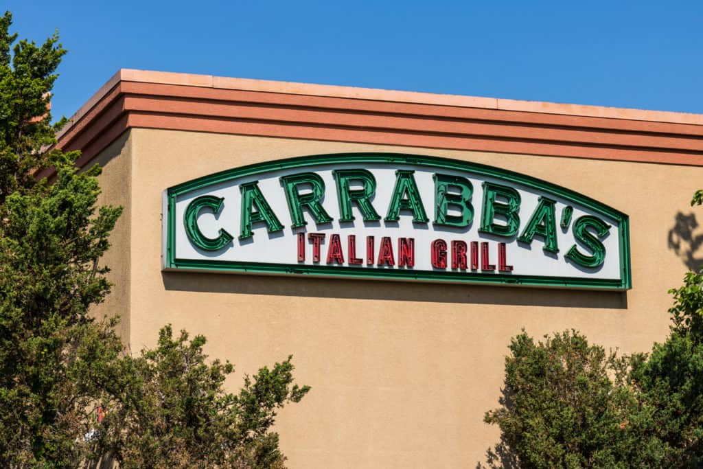 Carrabba's Italian Grill sign