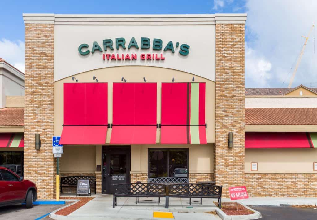 Carrabba's Italian Grill restaurant