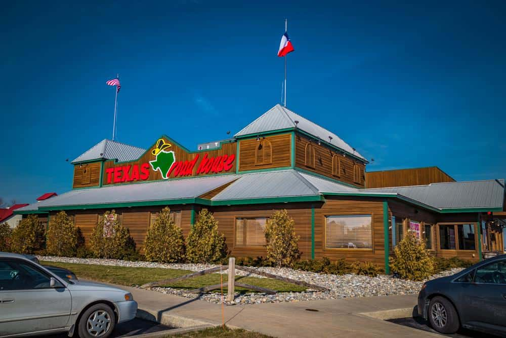 Texas RoadHouse Restaurant in Texas, US