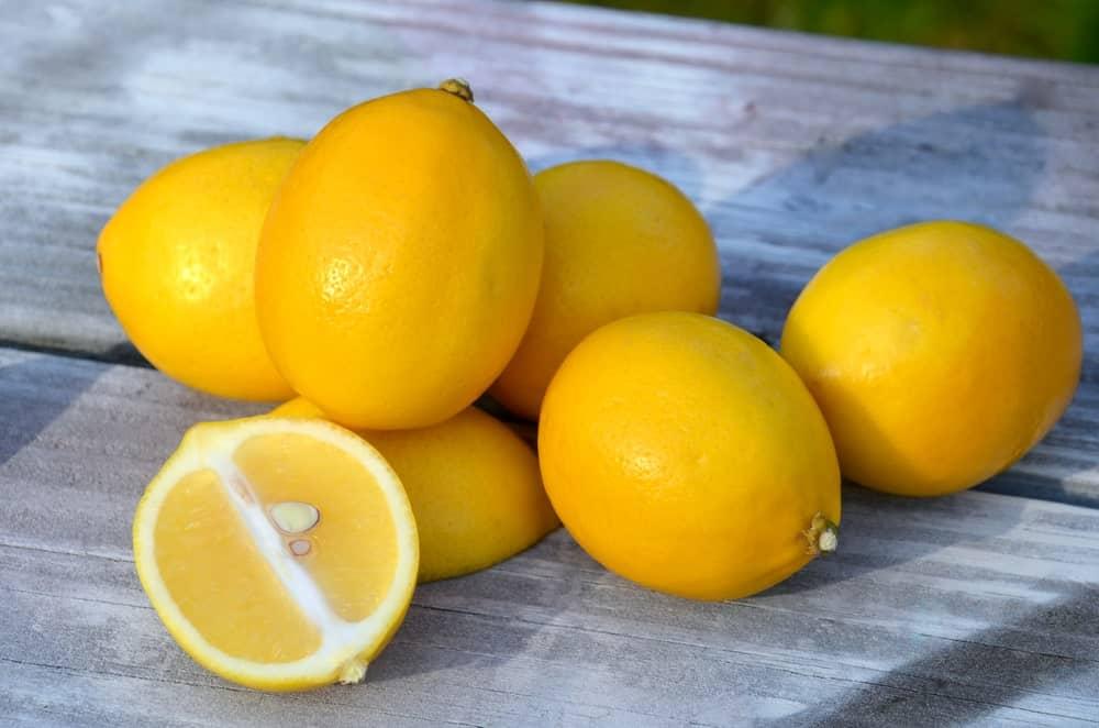 Fresh Meyer Lemons