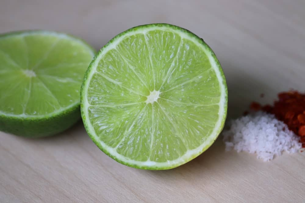 Half slices of Persian Lime