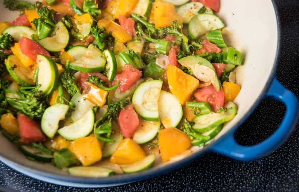 Fresh Mix of Veggies for vegetarians