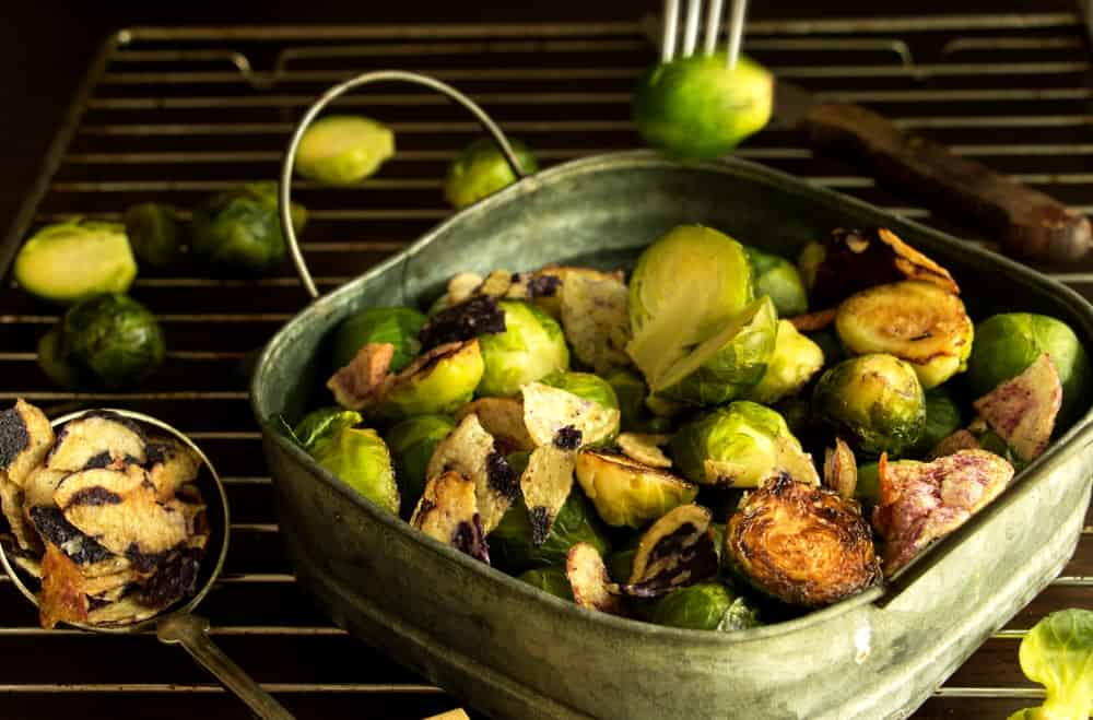 Brussels sprouts in a gourmet cuisine