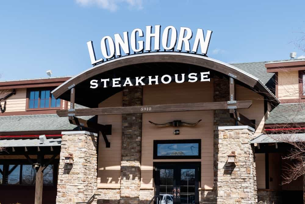 Longhorn restaurant owned by Darden