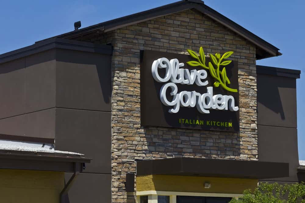 Olive Garden owned by Darden