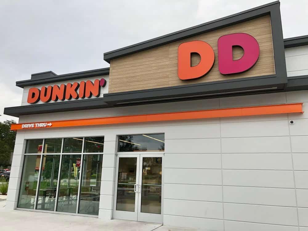 Dunkin' restaurant