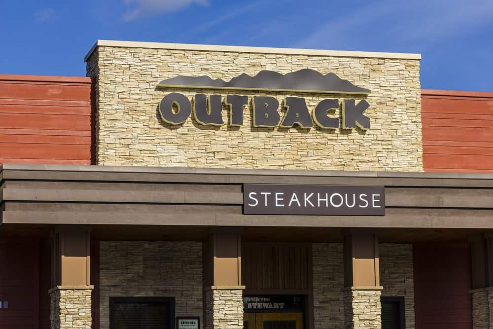 Outback Steakhouse restaurant