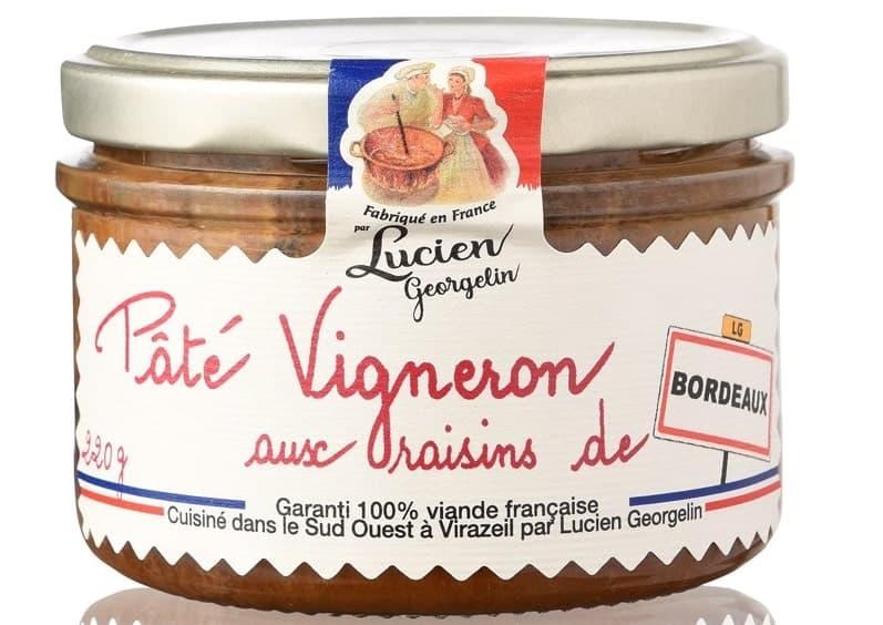 A jar of Boutique Lucien Pate Vigneron.