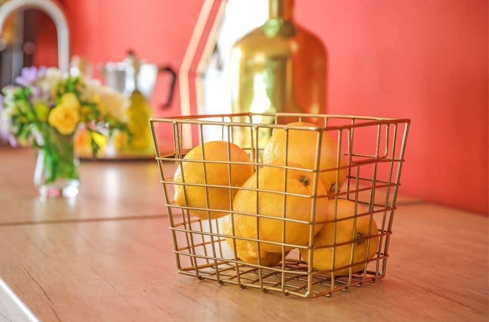 Citrus Fruit on Counter