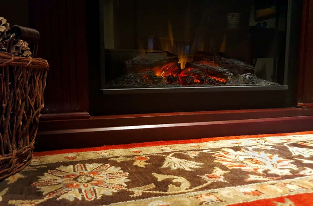 Hearth rugs can be made from many different materials